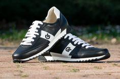 G&T Aktív Fekete – Fehér bőr sportcipő Aktiv, Sneakers, Shoes, Fashion, Tennis, Moda, Slippers, Zapatos, Shoes Outlet