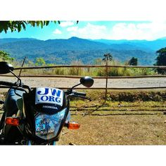 To reach the people in the mountainous regions, our elder and I had used this single motorcycle with the jw.org sign. by photobudz Thank you. Submit