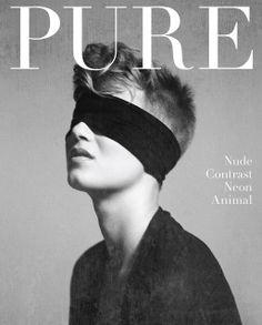 Pure | Magazine Cover: Graphic Design, Typography, Photography | Photo: Henrik Adamsen |