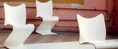 Chaises Panton en 1966