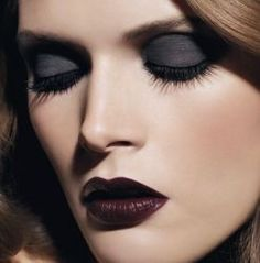 dark make up via Beauty Lookbook