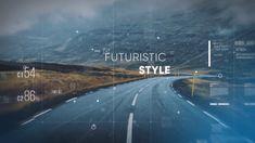 Futuristic Parallax Slideshow by Lugansky on Envato Elements Aperture Science, Computer Basics, News Web Design, Futuristic Design, Animation Background, Interface Design, Interactive Design, Corporate Design, Motion Design