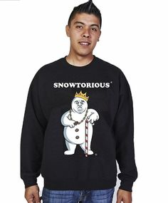 SNOWTORIOUS® - Black Funny Christmas Outfits, Ugly Christmas Sweater Women, Christmas Sweaters For Women, Christmas Shirts, Christmas Humor, Sweater Outfits, Men Sweater, Ugly Sweater Party, How To Make Snow