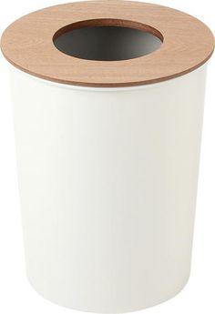 C WOOD_ダストボックス(オフホワイト):ナチュラル,北欧,ホワイト系,Home's Style(ホームズスタイル)のゴミ箱・ダストボックスの画像