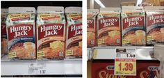 KROGER/MEIJER:  Hungry Jack Hashbrowns as low as $0.39!!