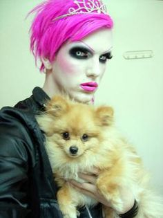 Well. That proves Diva wasn't born pink, I love that dog xD