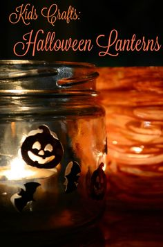 The Practical Mom: Halloween Lanterns Art Activities For Toddlers, Crafts For Kids, Diy Craft Projects, Diy Crafts, Halloween Lanterns, Toddler Preschool, Amazing Art, Creative, Party