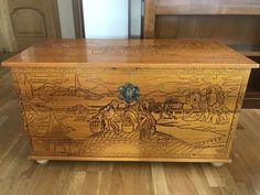 180,00€ · Baul de madera · Vendo Baúl de madera, tamaño grande. · Hogar y jardín > Muebles > Muebles de salón > Otros muebles para el salón