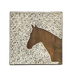 Horse Head String Art. Farmhouse Kitchen Decor. Rustic Nursery Decor. Baby Shower Gift. by mckennahgraceandco on Etsy