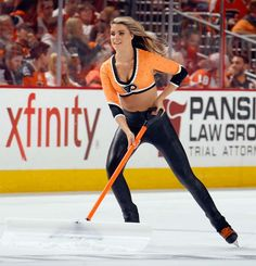 Hottest Ice Girls pics from the 2014-15 NHL season. Philadelphia Flyers