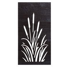 Bulrush SmartScreen on Woodgrain Black
