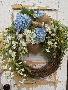 Image result for blue fall wreath