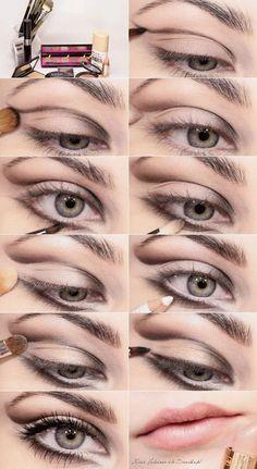 Chic Brown Sugar Smokey Eye Makeup