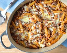 Bolognese Pasta Bake: Use up onions, carrots and herbs (as well as minced beef) in this warming bake.