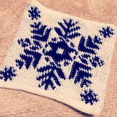 ソーイング:かぎ針編み*座布団