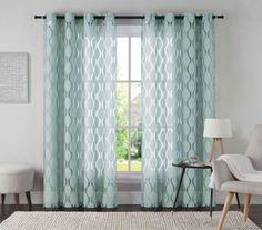 Aria Single Curtain Panel