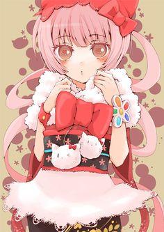 vocaloid nekomura iroha Yukata, Vocaloid Characters, Spice And Wolf, Tokyo Mew Mew, Hello Kitty Pictures, Iroha, Assasination Classroom, Manga, Hatsune Miku