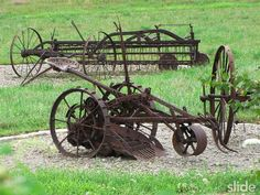fun, old farming tools/machines