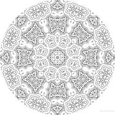 dessin mandala a colorier numero 066 mandala coloriage adulte via dessin2mandalacom