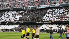 @Valencia mosaico en el Estadio de Mestalla #9ine