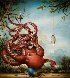 Our Modern Animal, Kevin Sloan (acrylic on Canevas)