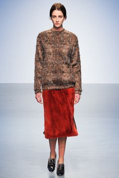 Richard Nicoll Fall 2014 Ready-to-Wear Collection Slideshow on Style.com
