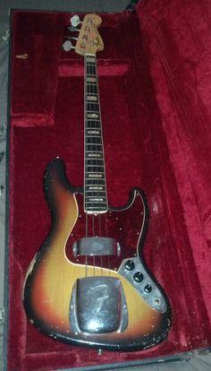 1969 Fender Jazz Bass Vintage Original '69, USA