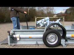 ▶ Absenkanhänger von Heimann Fahrzeugbau - YouTube