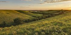 Photo by Scott Bean.  Evening Glow  in the Flint Hills