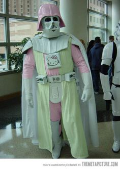 Luke I'm your mother.. or father... not sure...
