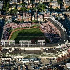 How Much Of Original Wrigley Field Remains? Baseball Park, Chicago Cubs Baseball, Baseball Field, Baseball Batter, Cubs Players, Chicago Cubs Fans, Mlb Stadiums, Baseball Classic, Football Images