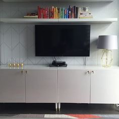Stunning IKEA hack with Bestå TV bench and Prettypegs' Estelle legs by @shosh02…