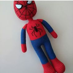 Best 11 We process the spider before it comes to the reduction. Crochet Doll Tutorial, Crochet Dolls, Crochet Bunny Pattern, Crochet Patterns, Spiderman, Bunny Plush, Cute Bunny, Crochet Animals, Stuffed Toys Patterns