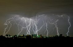 I want to see a lightning storm like this.