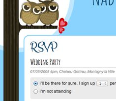 WeddingDonkey Features: Wedding Website with online RSVP
