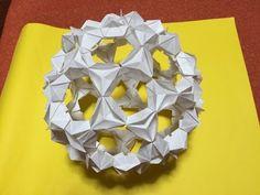 Origami Buckyball 折り紙 バッキーボール - YouTube