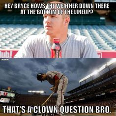 Twitter / MLBMeme: Mike Trout is hitting lead ...