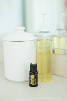 Add 2 parts Apricot oil (or Sunflower oil) and 1 part Castor oil with 10 drops of the Essential Oil of your choice. Our favorite is Lemon. Mix well and put in a dispenser bottle. Rub a quarter size of the mixture all over your face to remove make up. Place a steaming hot washcloth over your face and let it soak in for a few minutes. Wipe the remaining make up and oil off your face for a refreshing and cleansing feeling!
