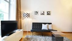 Elegant Business Apartment in Vienna next to beautiful Stadtpark. Feel like home away from home! Barcelona Chair, High Class, Luxury Apartments, Very Well, Home And Away, Vienna, Elegant, Business, Furniture