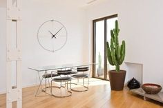 design wall clock BILBAO L NOMON