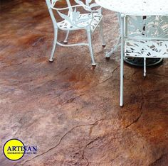 stamped concrete - Bing Images Concrete Pavers, Stained Concrete, Concrete Countertops, Concrete Floors, Stamped Concrete Colors, Concrete Stamping, Projects To Try, Flooring, Bing Images