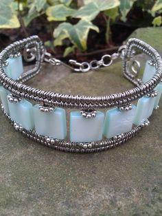 Wire Wrapped Bracelet.