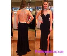 Sexy Prom Dresses,Red Prom Dress,Chiffon Backless Evening Gown,Long Formal Dress,Backless Prom Gowns,Open Backs Evening Dresses,Black Party Gowns MT20183851