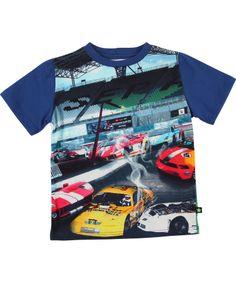 Molo Toffe T-shirt Voor Racewagen Fans met Grote Kleurvakken. molo.nl.emilea.be