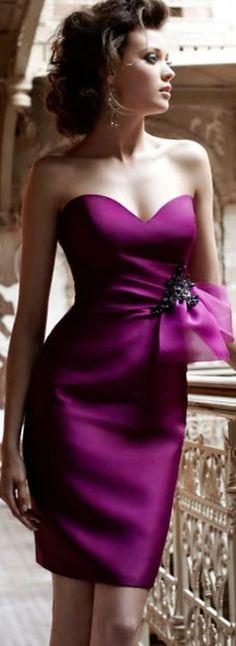@roressclothes clothing ideas #women fashion purple dress