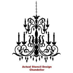 Chandelier on canvas wall decor pinterest chandeliers chandelier on canvas wall decor pinterest chandeliers canvases and silhouettes aloadofball Image collections