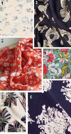 Tissus: notre sélection shopping Automne / Hiver - Marie Claire Idées