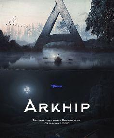 Arkhip: URRS Inspired Font