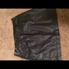 Faux leather mini skirt Worn 1-2 times. Faux leather mini skirt. Forever 21 Skirts Mini