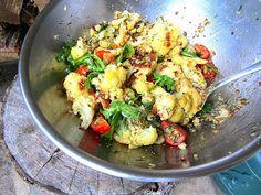 Stacey Snacks: Cookbooks Ottolenghi's Grilled Cauliflower Salad w/caper & dill vinaigrette